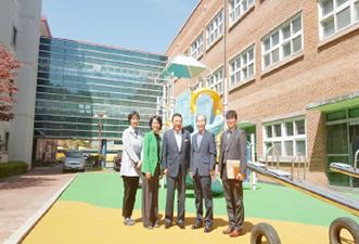 韓国富川(プチョン)市SANGROK障害者学校